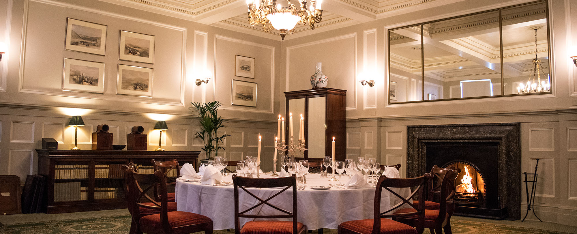 106 Pall Mall private function and dining rooms - Castlereagh Room
