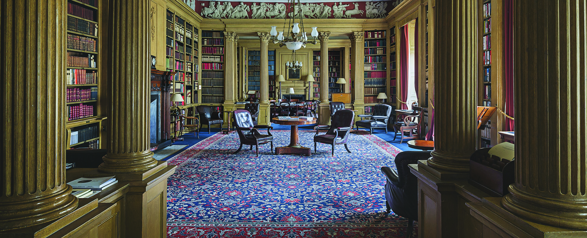 One of the most beautiful rooms in London; Library in 106 Pall Mall