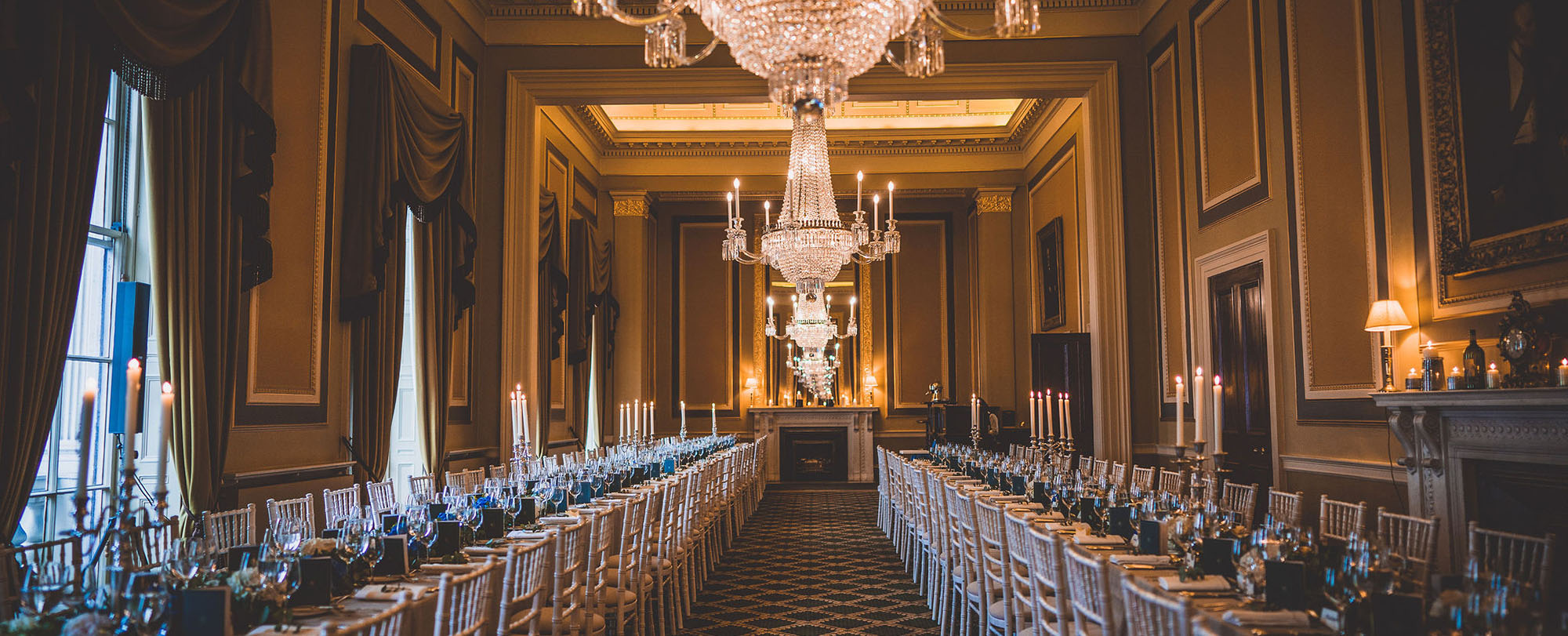 106 Pall Mall Coffee room for event and wedding hire